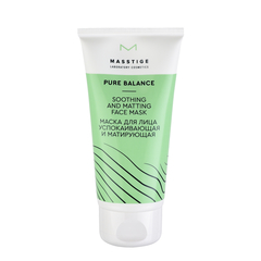 Маска - Pure Balance Soothing And Matting Face Mask