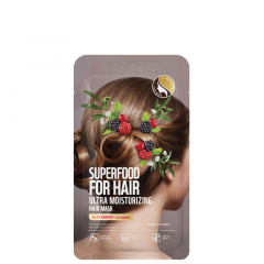 Маска - Superfood For Hair Ultra Moisturizing Hair Mask Blacberry Complex