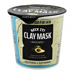 Маска - Superfood For Skin Mix It! Clay Mask Avocado
