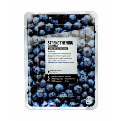 Тканевая маска - Superfood Salad For Skin Strengthening Sheet Mask Blueberry