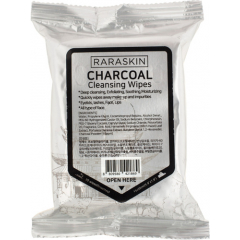 Влажные салфетки - Charcoal Cleansing Wipes