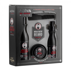 Борода и усы - Beard & Moustache Gift Set