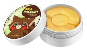 Патчи для глаз - Gold Racoony Hydrogel Eye & Spot Patch
