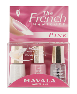 Набор для маникюра - Manucure French Pink