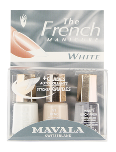 Набор для маникюра - Manucure French White