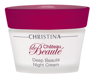 Ночной уход - Chateau de Beaute Deep Beaute Night Cream