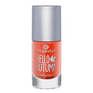 Лаки для ногтей с эффектами essence Лак для ногтей с термо-эффектом Hello Autumn т.02 (Цвет 02 Meet my pumpkin variant_hex_name E43D21)