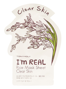 Тканевая маска - I'm Real Rice Mask Sheet