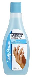 Жидкость для снятия лака Nail Polish Remover For Sensitive & Artificial Nails объем 236 мл