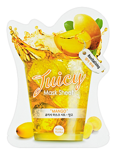 Тканевая маска - Juicy Mask Sheet. Mango