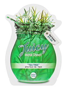 Тканевая маска - Juicy Mask Sheet. Tea Tree