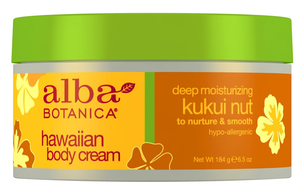 Крем для тела - Hawaiian Body Cream. Deep Moisturizing Kukui Nut Body Cream
