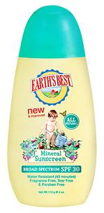 Детский крем Mineral Sunscreen SPF30