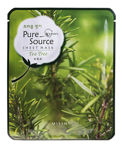 Тканевая маска - Pure Source Sheet Mask Tea Tree