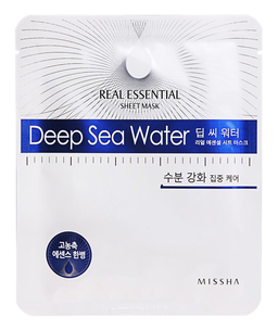 Тканевая маска - Real Essential Sheet Mask Deep Sea Water