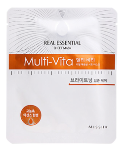 Тканевая маска - Real Essential Sheet Mask Multi-Vita