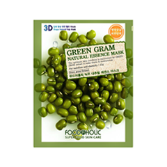 Тканевая маска - Green Gram Natural Essence 3D Mask