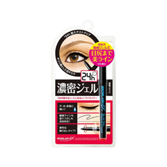 Карандаш для глаз - Brow Lash EX Water Strong Liner Makemania Black