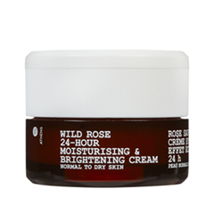 Крем - Wild Rose 24-Hour Moisturizing & Brightening Cream for Normal to Dry Skin