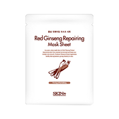 Тканевая маска - Red Ginseng Repairing Mask Sheet