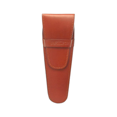 Для мужчин - Brown Leather Razor Pouch