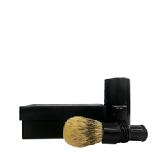 Помазки - Turnback Travel Shave Brush Faux Ebony Super Badger