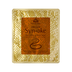 Тканевая маска - 24K Gold Syn-ake Bio Cellulose Mask Sheet