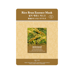 Тканевая маска - Rice Bran Essence Mask