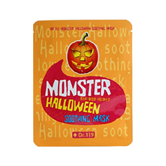 Тканевая маска - Dr.119 Monster Halloween Soothing Mask