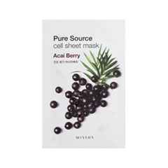 Тканевая маска - Pure Source Cell Sheet Mask Acai Berry
