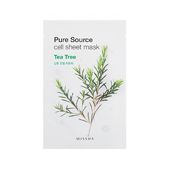 Тканевая маска - Pure Source Cell Sheet Mask Tea Tree
