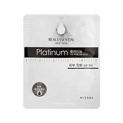Тканевая маска - Real Essential Sheet Mask Platinum