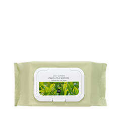 Салфетки - Daily Garden Bosung Green Tea Seed Oil Cleansing Tissue