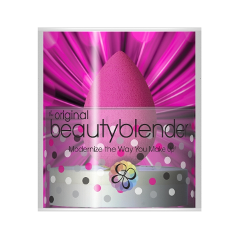 Спонжи и аппликаторы - Спонж Beautyblender и мыло для очистки Solid Blendercleanser