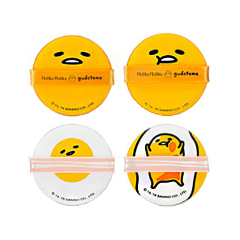 Спонжи и аппликаторы - Набор Gudetama Chop Chop Cushion Puff Set