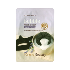 Тканевая маска - Earth Beauty Bubble Mask Sheet