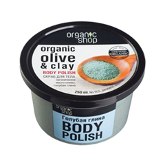 Скраб для тела - Organic Olive & Clay Body Polish