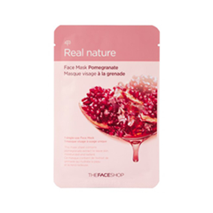 Тканевая маска - Real Nature Mask Sheet Pomegranate