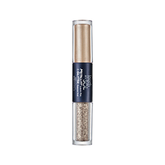 Тени для век - Metallist Liquid Foil & Glitter Eye Shadow Duo 3