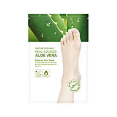 Маска - Real Squeeze Aloe Vera Moisture Foot Mask