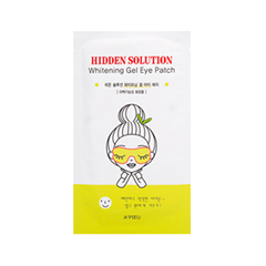 Патчи для глаз - Hidden Solution Whitening Gel Eye Patch