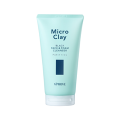 Пенка - Micro Clay Black Pack & Foam Cleanser Purifying