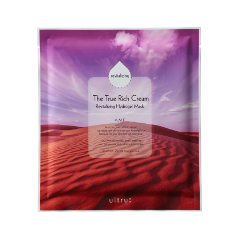 Гидрогелевая маска - The True Rich Cream Revitalizing Hydrogel Mask