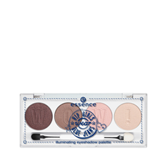 Для глаз - Hip Girls Wear Blue Jeans Illuminating Eyeshadow Palette
