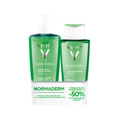 Очищение - Набор Normaderm Deep Cleansing Purifying Gel and Purifying Pore-Tightening Toning Lotion
