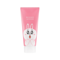 Пенка - Flower Bouquet Cherry Blossom Cleansing Foam. Line Friends Edition