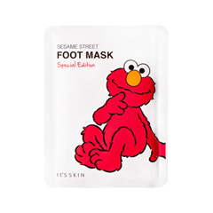 Носочки для педикюра - Sesame Street Foot Mask Special Edition