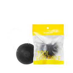 Спонж конняку - Charcoal Konjac Cleansing Puff