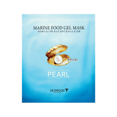 Гидрогелевая маска - Marine Food Gel Mask Pearl