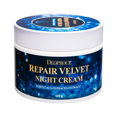 Ночной уход - Moisture Repair Velvet Night Cream
